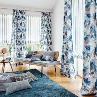 Idea para vestir las ventanas: estor y dobles cortinas