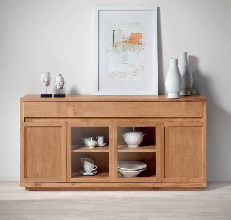 Aparador madera de teca - Villalba Interiorismo