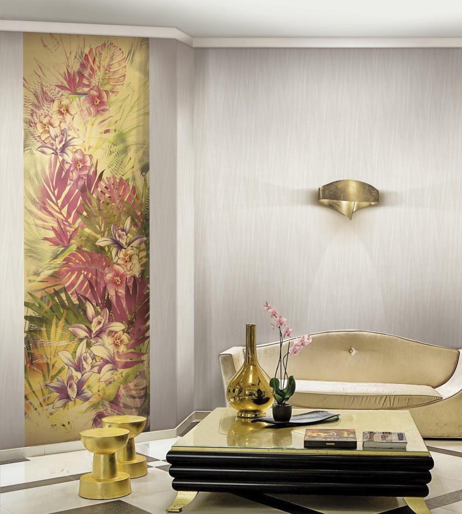 Mural flores ESOTICA de Blumarine - Villalba Interiorismo
