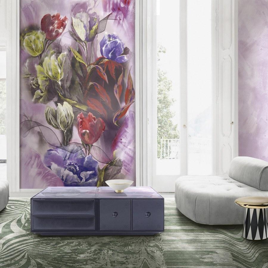 Mural Tulipani de Blumarine - Villalba Interiorismo