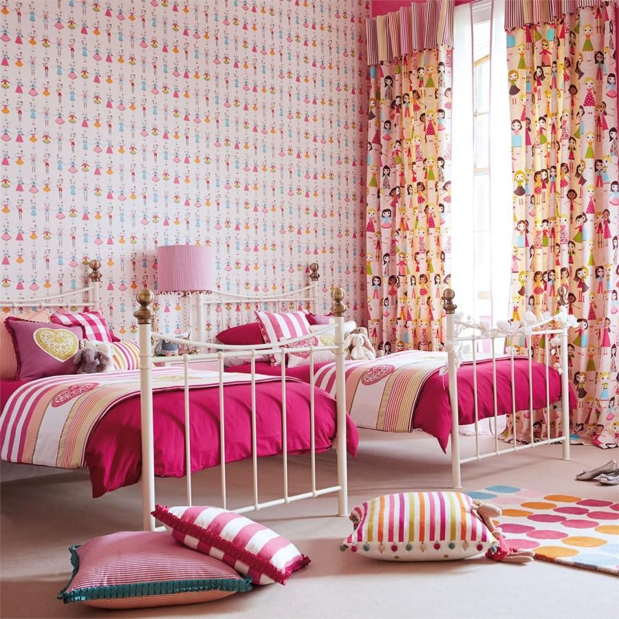 Dormitorio para niñas de Harlequin - Villalba Interiorismo