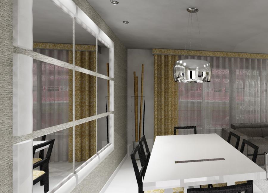 Espejo a medida en infografía de un salón - Villalba Interiorismo (1)
