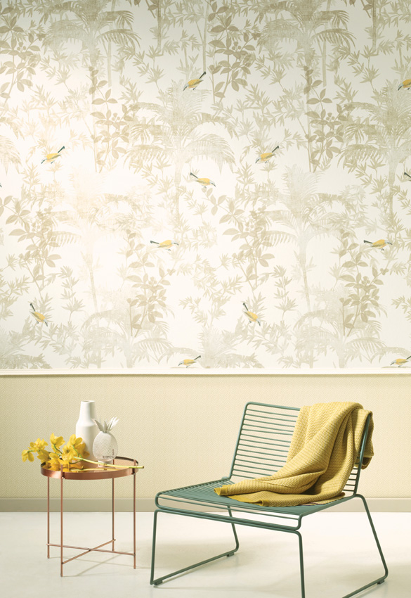 Panel pintado con pájaros de Khrôma de Coordonné - Villalba Interiorismo (2)