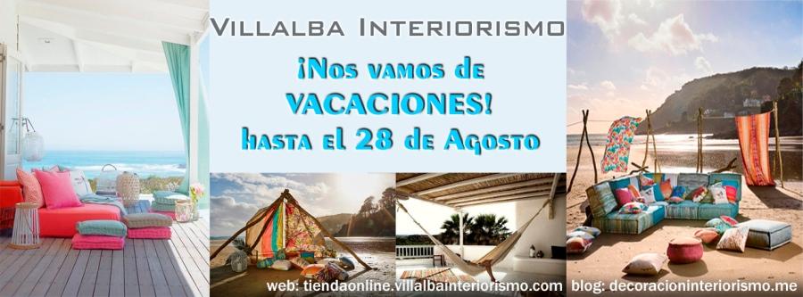 Vacaciones de verano - Villalba Interiorismo