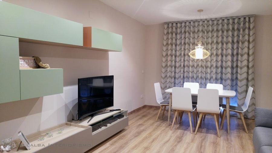 Un piso de estilo n rdico villalba interiorismo - Piso estilo nordico ...