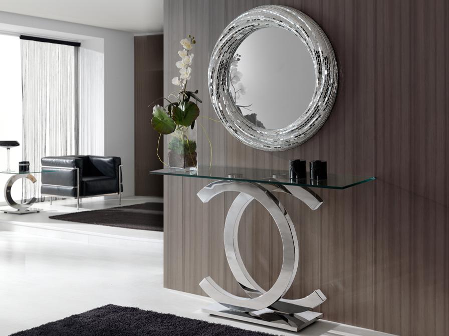 consola-recibidor-cristal-y-acero-villalba-interiorismo