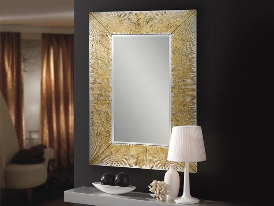 espejo-dorado-moderno-villalba-interiorismo