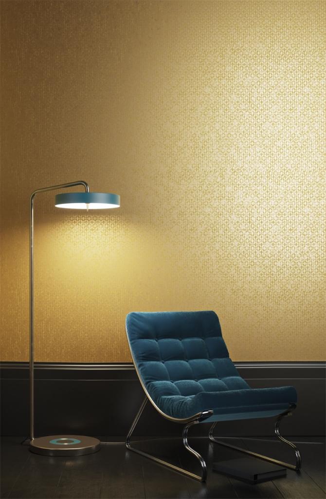 papel-pintado-dorado-de-khroma-coordonne-villalba-interiorismo