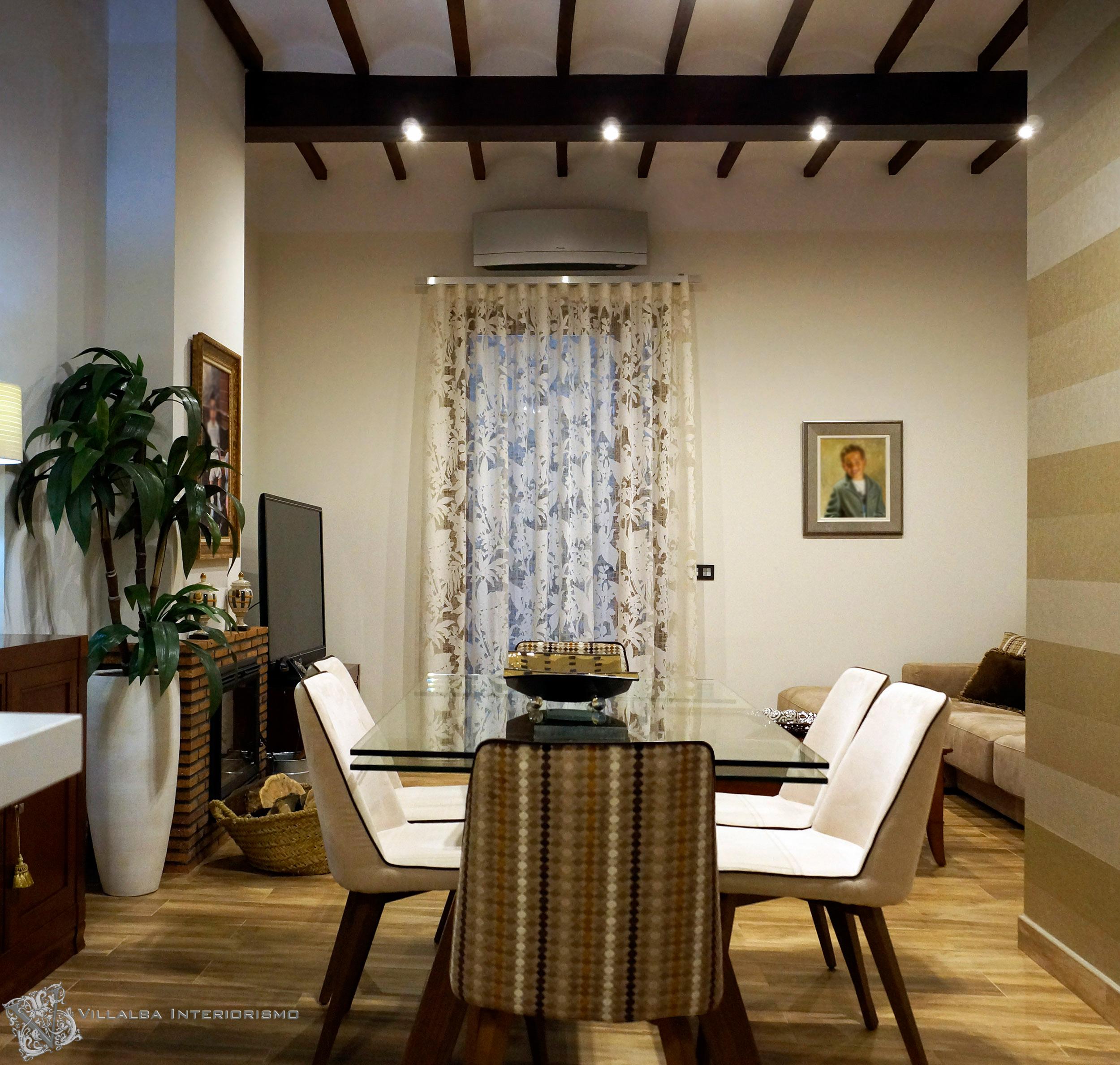 Awesome Es Una Casa Reformada En Artana (Castellón) Con La Zona Del Salón, Comedor  Y Cocina Toda Abierta, Creando Una Zona Diáfana Muy Acogedora.