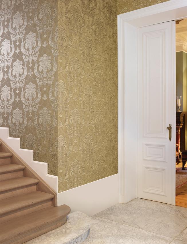 Consejos para elegir el color del papel pintado villalba - Papel pintado dorado ...