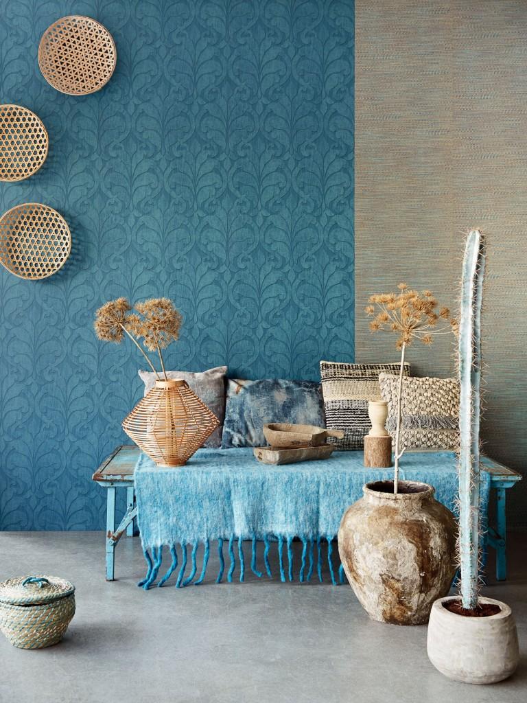 Consejos para elegir el color del papel pintado villalba for Muebles pintados en gris