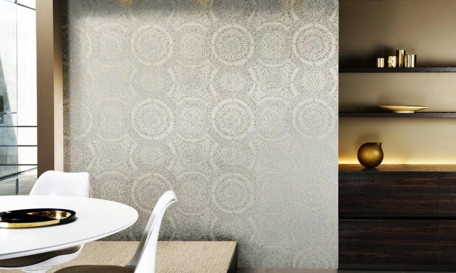 Papeles pintados modernos con textura y brillo villalba interiorismo - Papeles pintados modernos ...