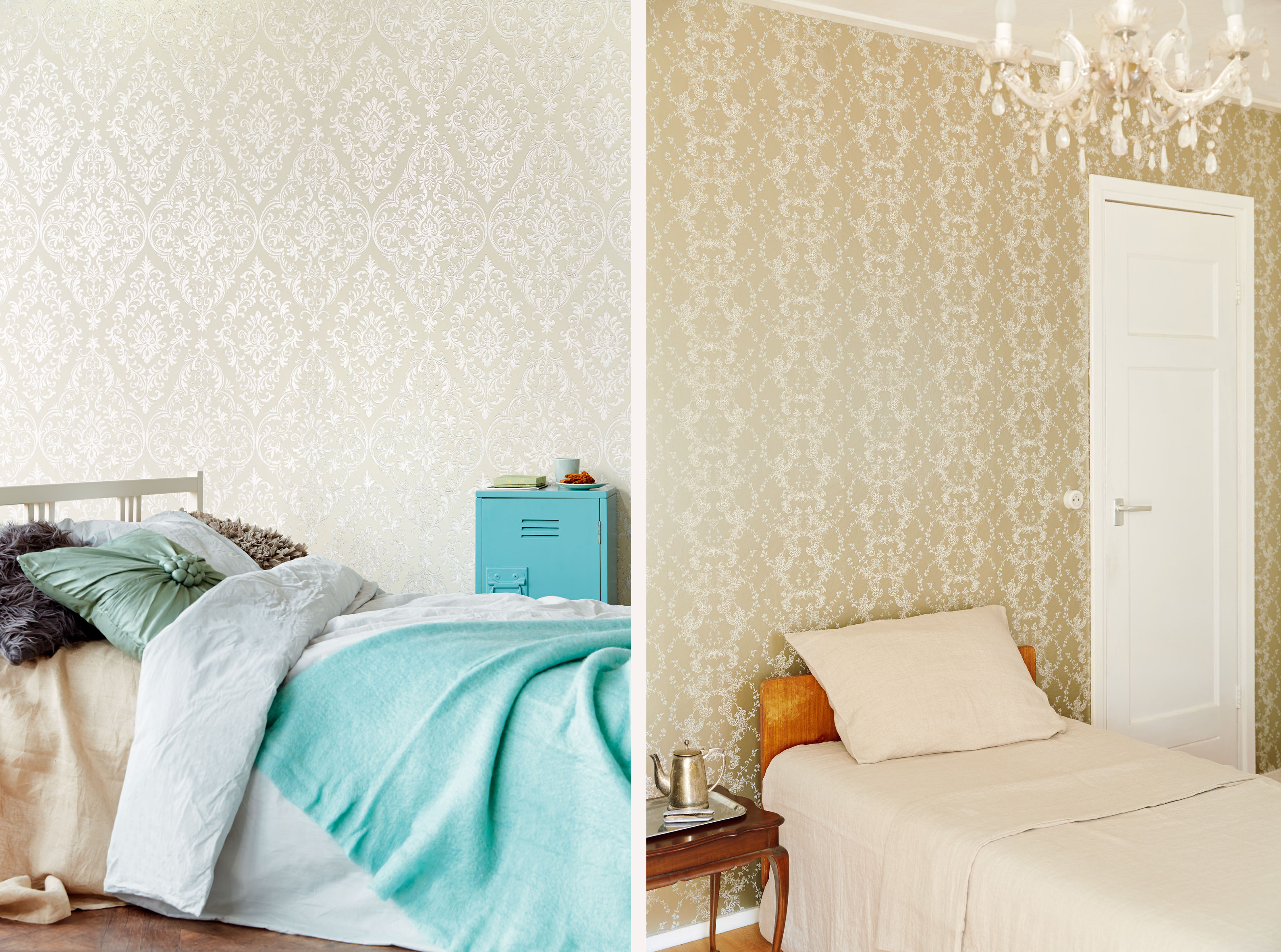 Papel Pintado Para Dormitorios La Elegancia Y El Glamour Siempre