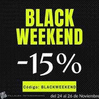 Black Friday o Black Weekend disfrútalo!!