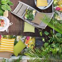Los beneficios de las telas outdoor para el jardín, terraza y balcón